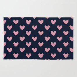 Heart pattern Rug