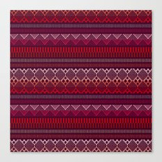 Weave (brown) Canvas Print
