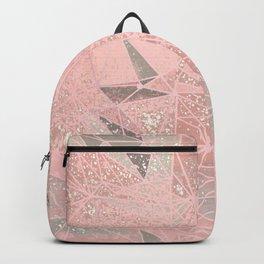 rose space geometry Backpack