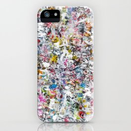 Overlapping Conversations iPhone Case
