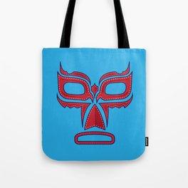 Luchador Mask Good Guy Tote Bag