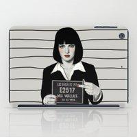 mia wallace iPad Cases featuring Mia by Sofia Bonati