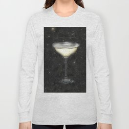 Champagne Nebula Long Sleeve T-shirt