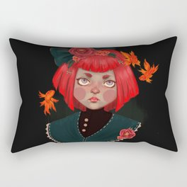 goldfish doll Rectangular Pillow