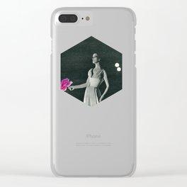 Curtain Down Clear iPhone Case