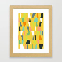 Modern Geometric 39 Framed Art Print