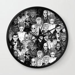 Horror Film Monsters Wall Clock