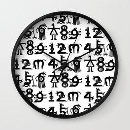 Counting Unicorns Wall Clock