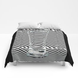 Striped Water Comforters