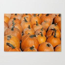 Pumpkin Fest Canvas Print