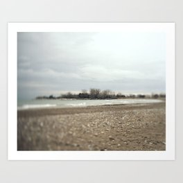 Beaches 2 Art Print
