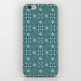 Island Paradise Geometric Floral Abstract iPhone Skin