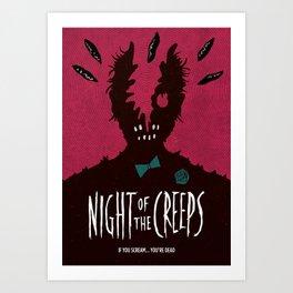 Night of the Creeps Art Print