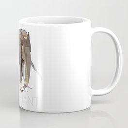 Bibliophant - enormous lover of books Coffee Mug