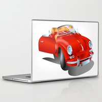 porsche Laptop & iPad Skins featuring Porsche by Paola Canti
