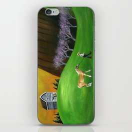 Hilly Horse iPhone Skin