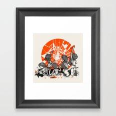 We'll help you rise again Framed Art Print