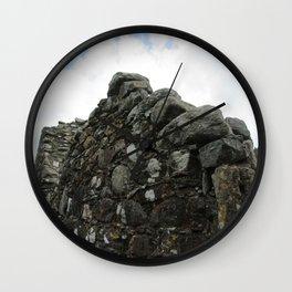 Stones on Stones Wall Clock