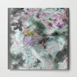 butterfly breeze pastel Metal Print
