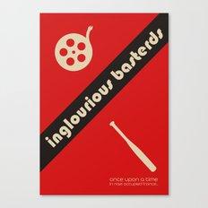 Inglourious Basterds Bauhaus Poster Canvas Print