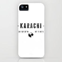 Karachi iPhone Case