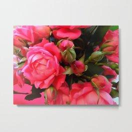 Pink Roses WC 3 Metal Print