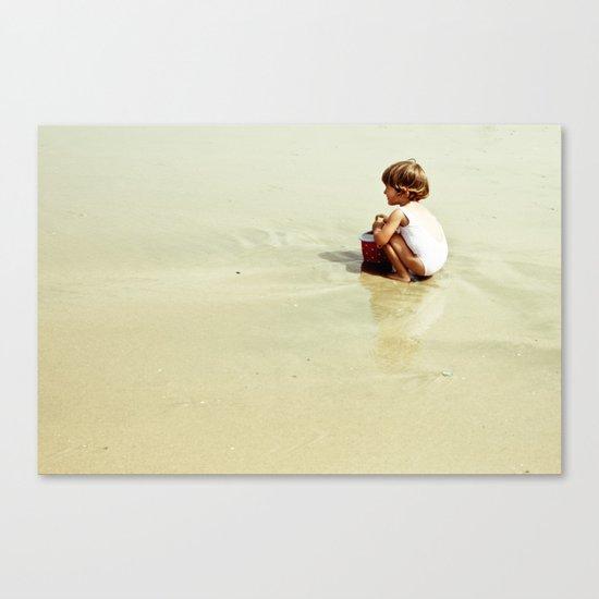 Found in the sea Canvas Print