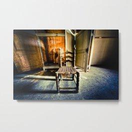Old Chair Metal Print
