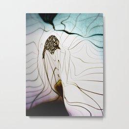 Glacial Foliation Metal Print