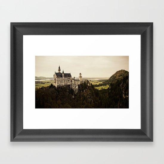 neuschwanstein Framed Art Print