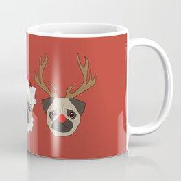 Ho Ho Ho Pugs Coffee Mug