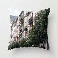 architecture Throw Pillows featuring architecture by LaiaDivolsPhotography