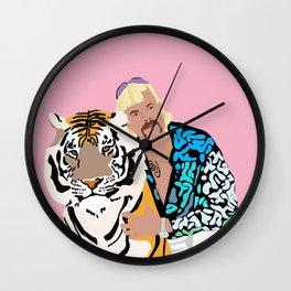 Dream Big Tiger Wall Clock