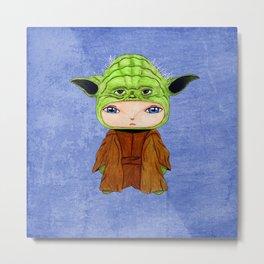 A Boy - Yoda Metal Print