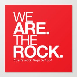 WE ARE THE ROCK Canvas Print