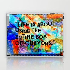 Crayon Box 2 Laptop & iPad Skin