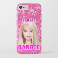 barbie iPhone & iPod Cases featuring Barbie by Maxvision