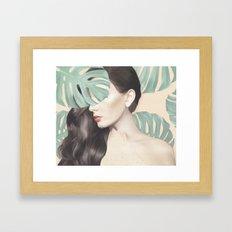 Monstera Suara Framed Art Print