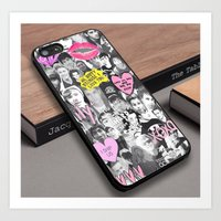 1D One Direction 5 Second of Summer Custom iPhone 6s Case Art Print