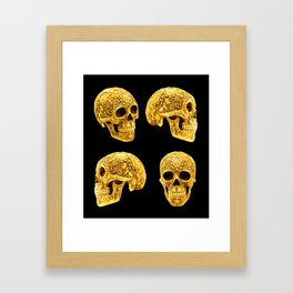 For the Love of Gold Framed Art Print