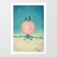 Bayside High Art Print