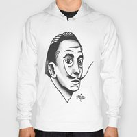 dali Hoodies featuring Dali by @VEIGATATTOOER