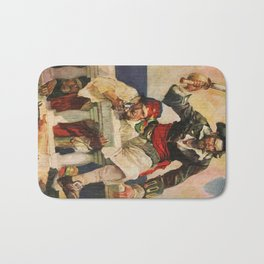 Blackbeard the Buccanneer Bath Mat
