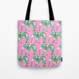 Elephant pattern Tote Bag