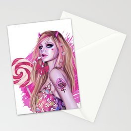 Candy Demon Stationery Cards