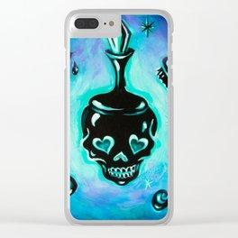 Elements of a Noir Boudoir Clear iPhone Case