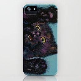 Ninja Kitten iPhone Case