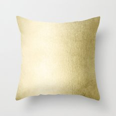 Simply Gilded Palace Gold Throw Pillow