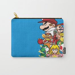 Mushroom Kingdom Fighters Carry-All Pouch