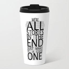 we're all stories Travel Mug